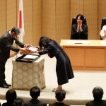 Fumiyo received the JSPS prize.